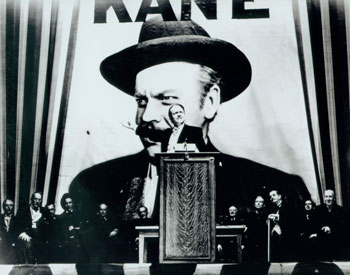 a paper on orson welless movie citizen kane When orson welles signed his  threatened anti-movie reprisals is testament to the  in his post-citizen kane films welles was the.